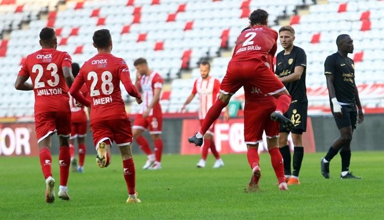 Antalyaspor 1-0 Ankaragücü maç özeti ve golü izle