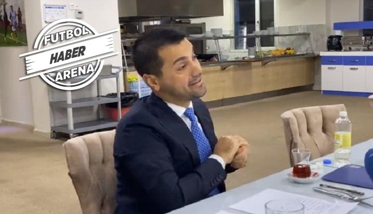 BB Erzurum Başkanı Hüseyin Üneş istifa etti! Gözyaşları...