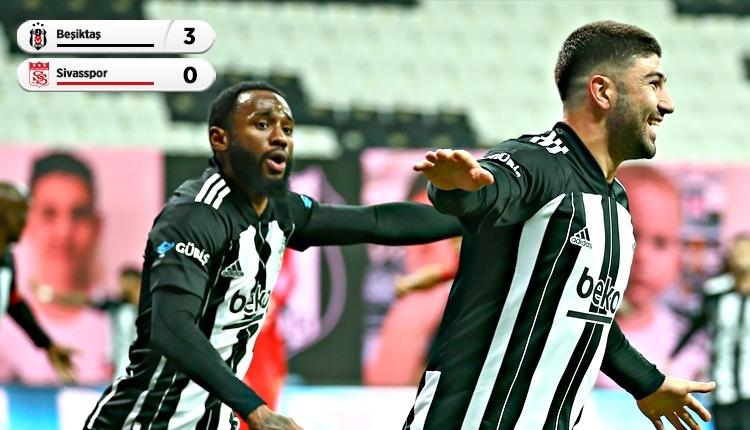 Beşiktaş 3-0 Sivasspor maç özeti ve golleri (İZLE)