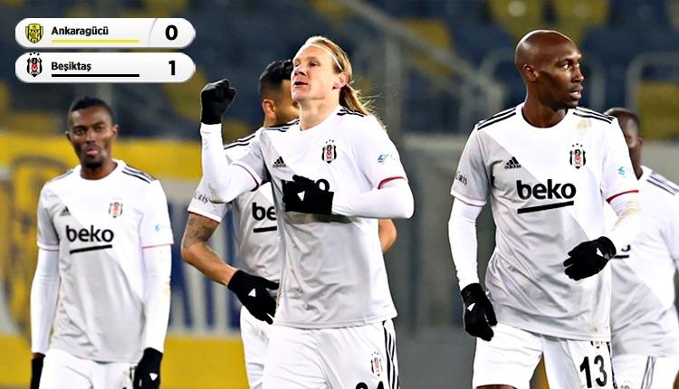 Beşiktaş, Ankaragücü'nü tek golle geçti (İZLE)