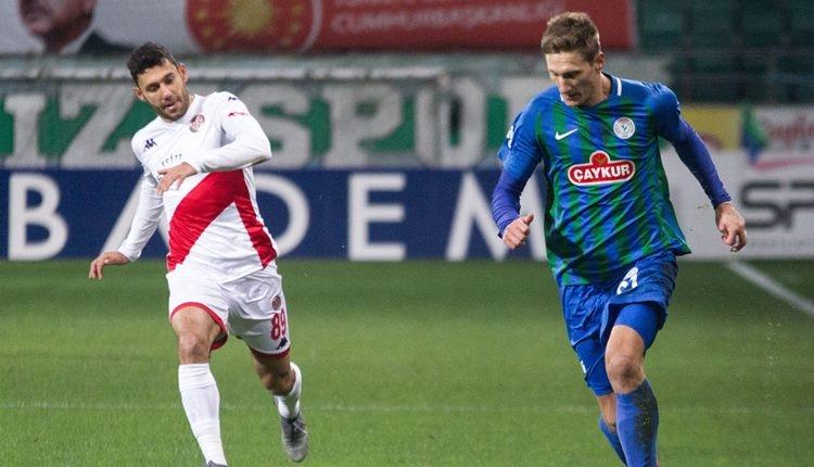 Çaykur Rizespor 2-1 Antalyaspor maç özeti ve golleri (İZLE)