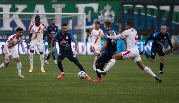 Çaykur Rizespor 3-2 Göztepe maç özeti ve golleri izle