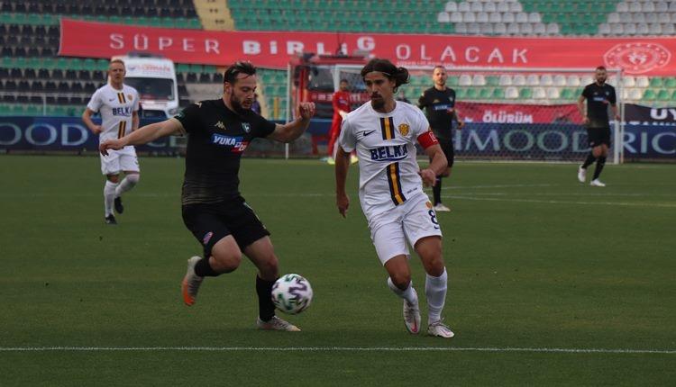 Denizlispor 1-2 Ankaragücü maç özeti ve golleri (İZLE)