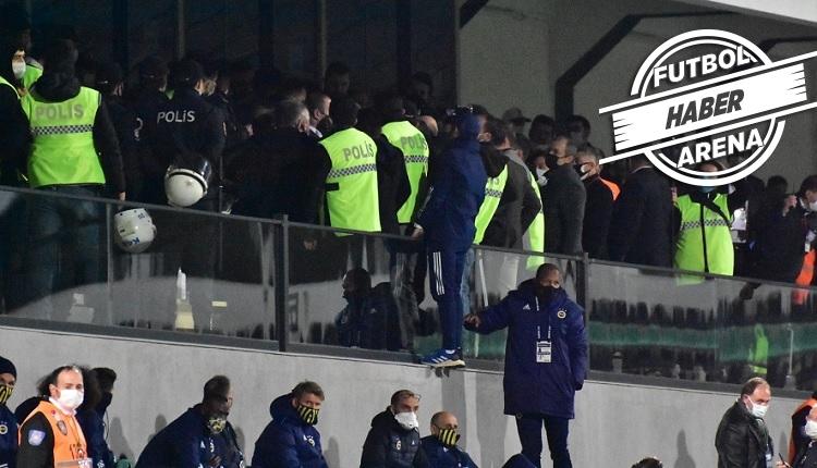 Denizlispor - Fenerbahçe maçında protokol tribününde olay!