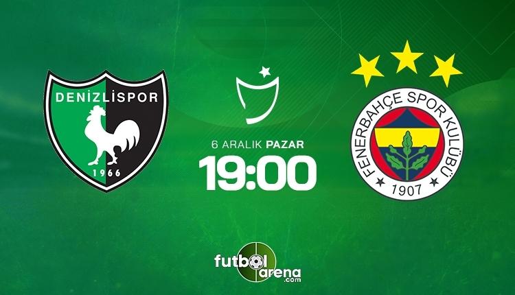 Denizlispor-Fenerbahçe canlı izle, Denizlispor-Fenerbahçeşifresiz İZLE (Denizlispor-Fenerbahçe beIN Sports canlı ve şifresiz İZLE)