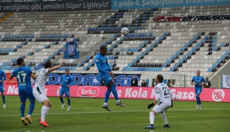 Erzurumspor'un galibiyet özlemi 9 maça çıktı