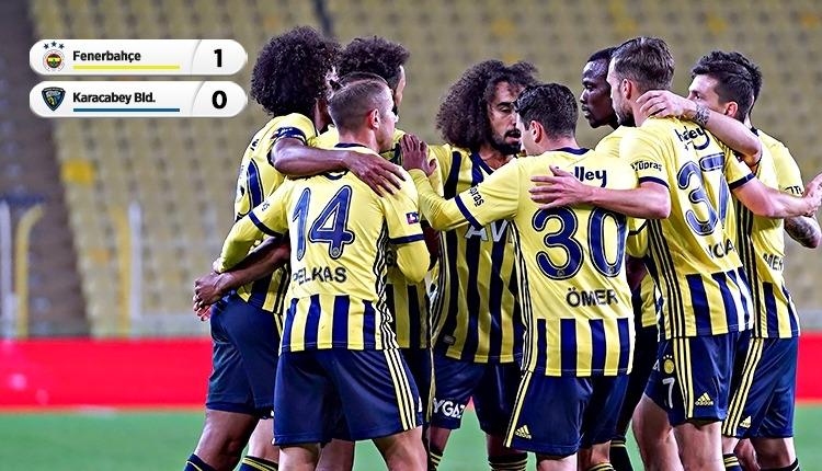 Fenerbahçe 1-0 Karacabey Belediyespor maç özeti (İZLE)