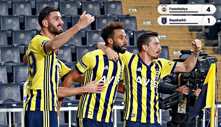 Fenerbahçe, Kadıköy'de galip! Başakşehir 9 kişi tamamladı (İZLE)