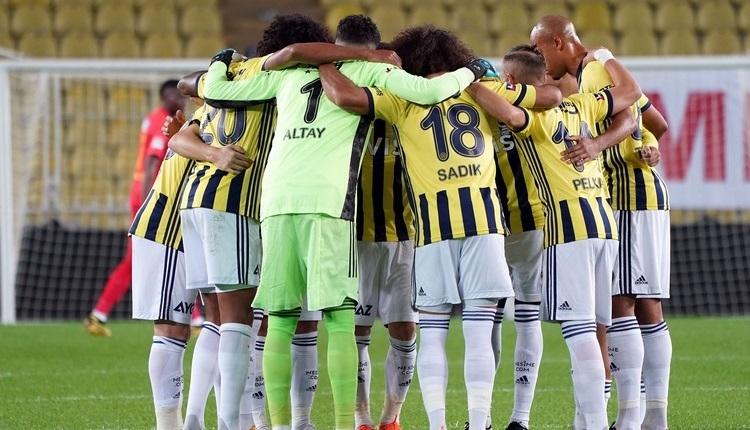 Fenerbahçe'de Gaziantep maçı öncesi eksikler
