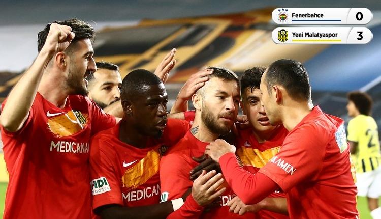 Fenerbahçe'ye Kadıköy'de şok! Malatya farklı kazandı (İZLE)