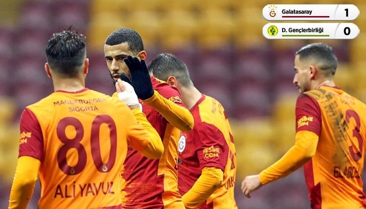 Galatasaray 1-0 Darıca Gençlerbirliği maç özeti (İZLE)