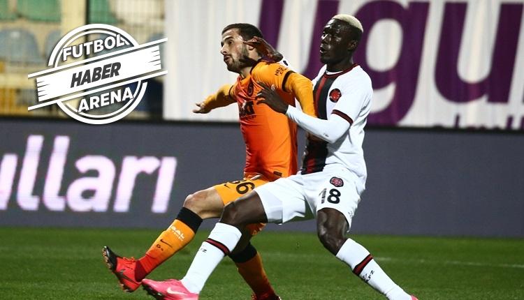Galatasaray böylesini bu sezon ilk kez yaşadı
