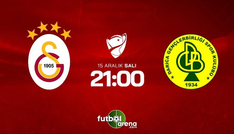 Galatasaray - Darıca Gençlerbirliği, A Spor canlı izle