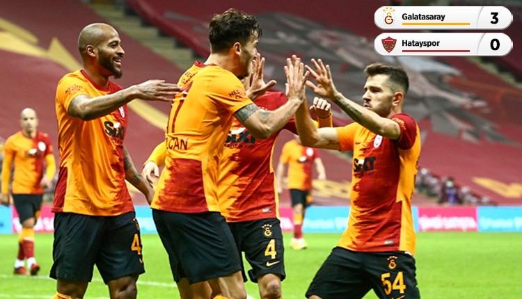 Galatasaray evinde Hatayspor'u devirdi (İZLE)