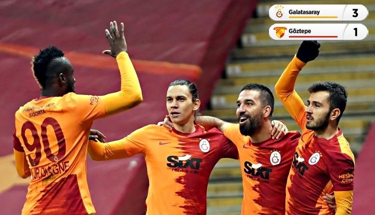 Galatasaray, Göztepe engelini 3 golle geçti (İZLE)