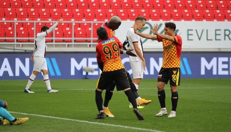 Göztepe 1-1 Karagümrük maç özeti ve golleri (İZLE)