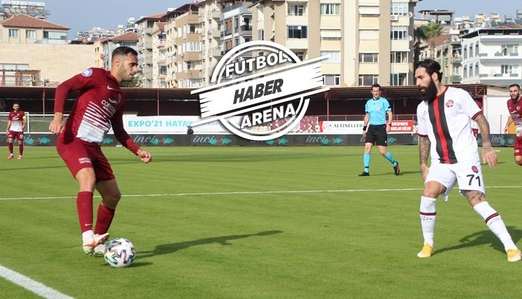 Hatayspor 3-1 Karagümrük maç özeti izle (Ndiaye ve Sabo, Galatasaray maçında cezalı)