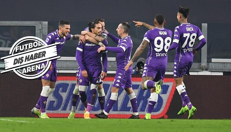 Juventus 0-3 Fiorentina maç özeti ve golleri