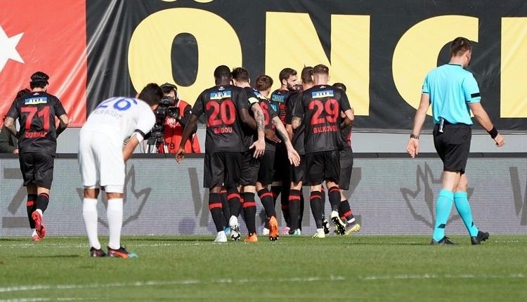 Karagümrük 2-1 Rizespor maç özeti ve golleri