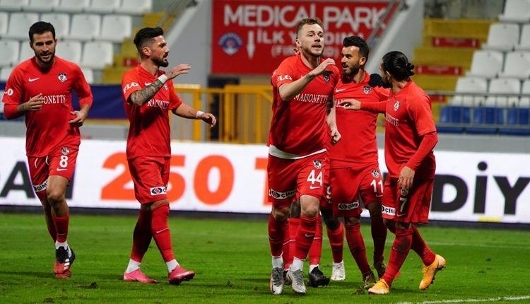 Kasımpaşa 0-4 Gaziantep FK maç özeti ve golleri (İZLE)