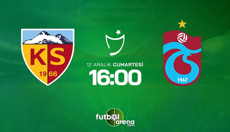 Kayserispor Trabzonspor canlı izle - Kayseri Trabzon şifresiz İZLE (beIN SPORTS 1 canlı yayın)