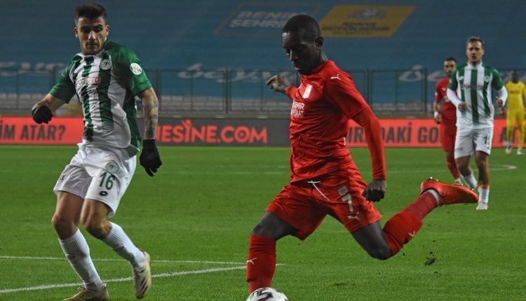 Konyaspor 0-1 Sivasspor maç özeti ve golü (İZLE)