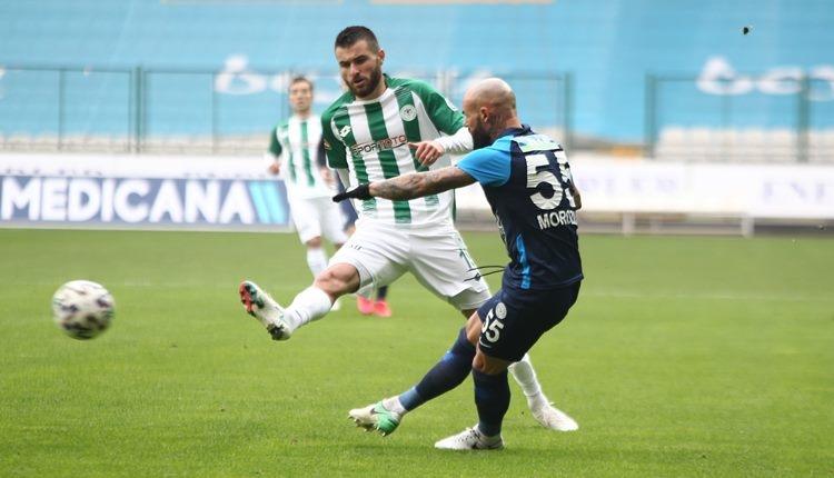 Konyaspor 1-1 Çaykur Rizespor maç özeti ve golleri (İZLE)