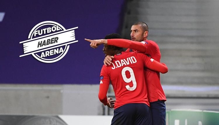 Lille'de Burak Yılmaz şov! Oyuna girdi, 4 dakikada 2 gol attı (İZLE)