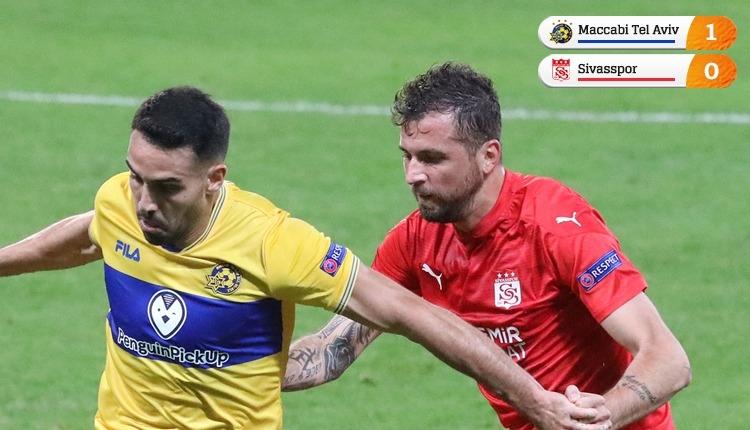 Maccabi Tel Aviv 1-0 Sivasspor | Sivasspor veda etti