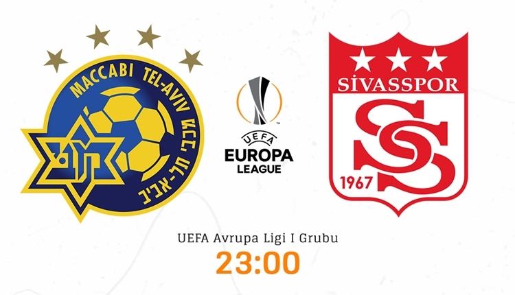 Maccabi Tel Aviv Sivasspor canlı izle - Maccabi Tel Aviv Sivasspor şifresiz İZLE (beIN SPORTS 1 canlı yayın)