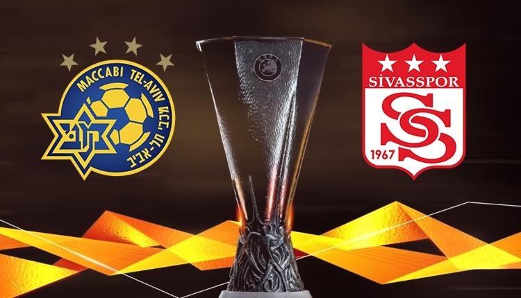 Maccabi Tel Aviv - Sivasspor maçı 11'leri belli oldu