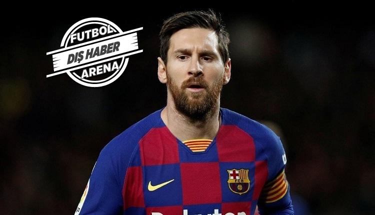 Messi ile çok özel: 'Gitmek istemiştim!'