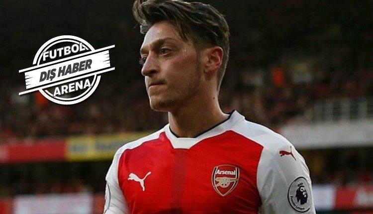 Mesut Özil'den Arsenal'e: