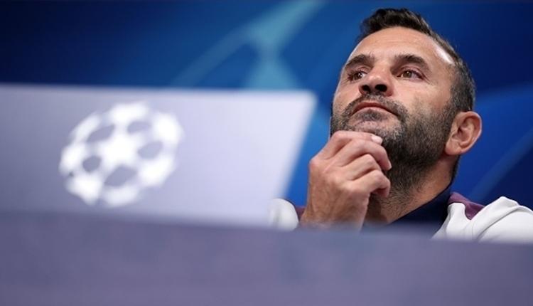 Okan Buruk'tan Şampiyonlar Ligi sözleri: 'Oyuncularımla gurur duydum'