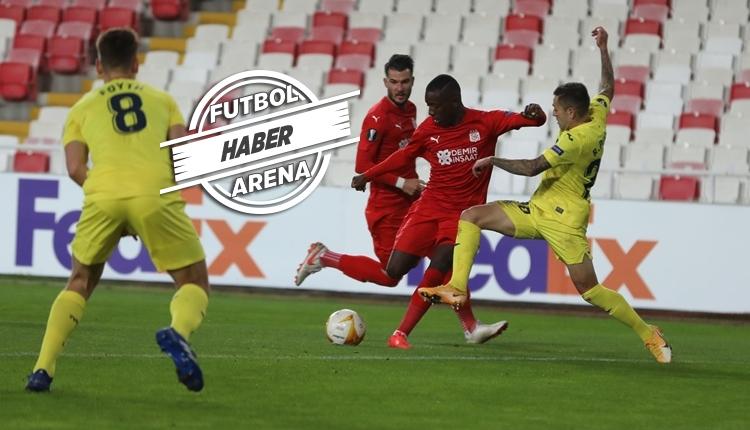 Sivasspor 0-1 Villarreal maç özeti ve golü izle