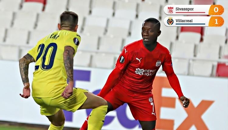 Sivasspor son maça kaldı! Villarreal tek golle kazandı (İZLE)