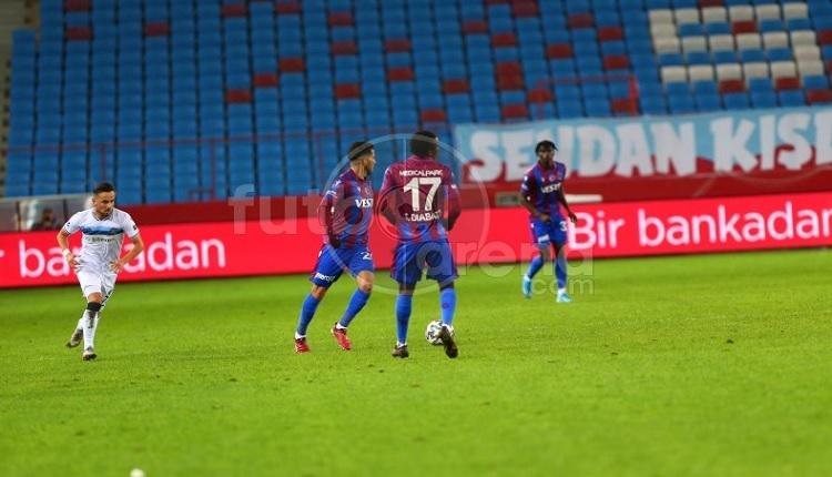 Trabzonspor - Adana Demirspor maçında 90+9'da kaçan penaltı