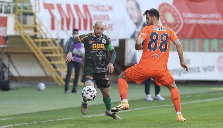 Alanyaspor 3-0 Başakşehir maç özeti ve golleri (İZLE)