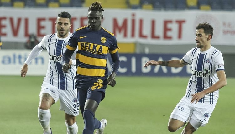 Ankaragücü 1-0 Kasımpaşa maç özeti ve golü (İZLE)