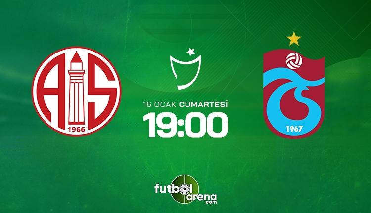 Antalyaspor Trabzonspor, beIN SPORTS canlı ve şifresiz İZLE