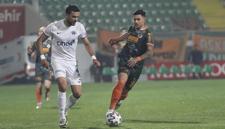 Aytemiz Alanyaspor 1-2 Kasımpaşa maç özeti ve golleri (İZLE)