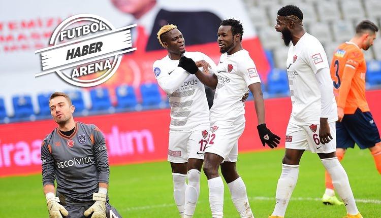 Başakşehir 1-5 Hatayspor maç özeti ve golleri (İZLE)