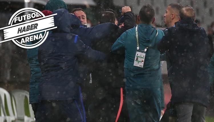 Başakşehir - Trabzonspor maçında olay!