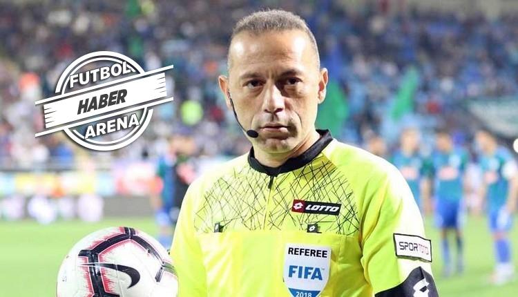 Beşiktaş ve Galatasaray'ın Cüneyt Çakır ile derbi karnesi