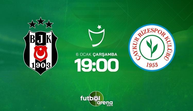 Beşiktaş-Rizespor canlı izle, Beşiktaş-Rizespor şifresiz İZLE (Beşiktaş-Rizespor beIN Sports canlı ve şifresiz İZLE)