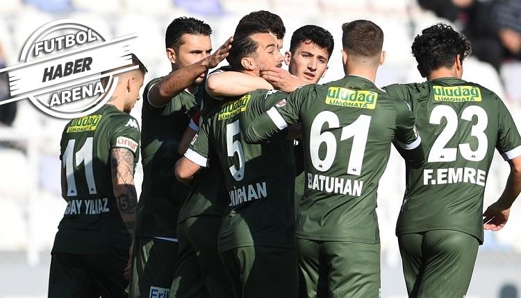 Bursaspor yeniden doğdu