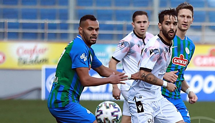 Çaykur Rizespor 1-1 Gençlerbirliği maç özeti ve golleri (İZLE)