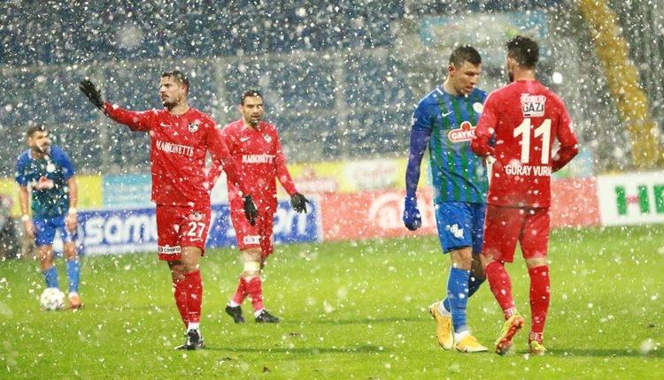 Çaykur Rizespor 3-0 Gaziantep FK maç özeti ve golleri (İZLE)