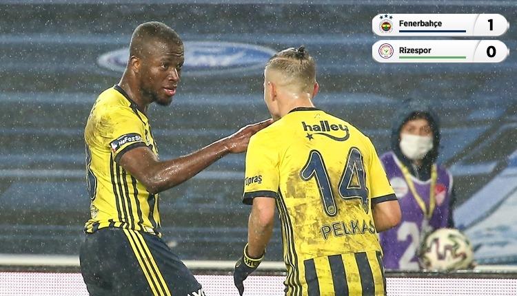 Fenerbahçe, Çaykur Rizespor'u tek golle geçti (İZLE)