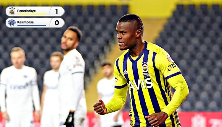 Fenerbahçe çeyrek finalde! Fenerbahçe 1-0 Kasımpaşa maç özeti (İZLE)